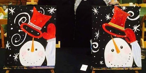 Paint and Sip at The Tap House - Winter Snowman