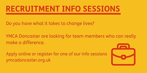 Recruitment Info Session - 12 Noon on Wednesday 22nd January 2020