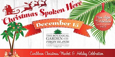 Christmas Spoken Here tickets