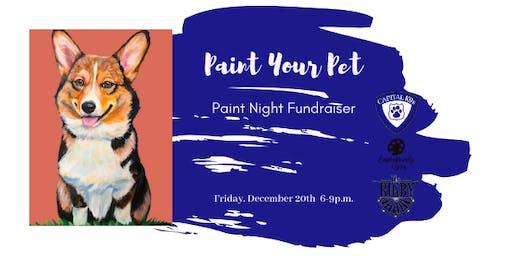 Paint Your Pet Fundraiser for Capital K9s
