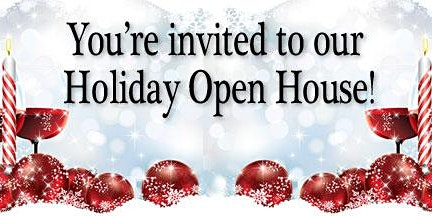 Holiday Open House Tasting!