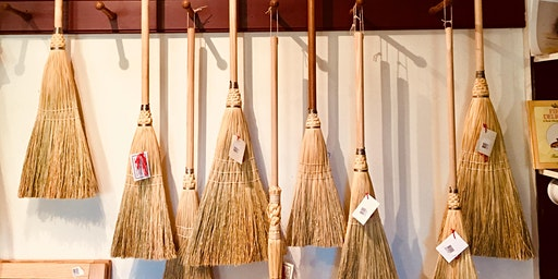 Broom Maker, Crafting a Holiday Gift Broom - Holiday on the Farm Workshop Festival