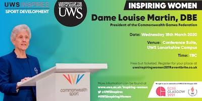 UWS Inspiring Women: Dame Louise Martin