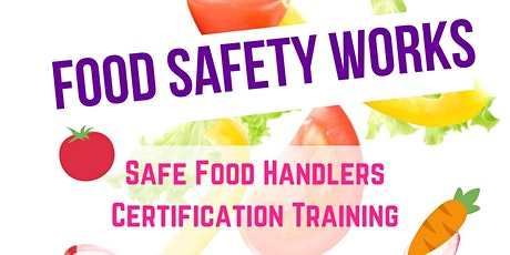 Bent County Safe Food Handlers Training tickets