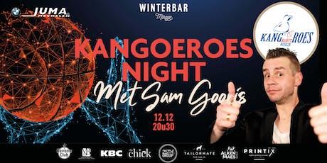 Winterbar Mirage Mechelen: Kangoeroes Night met Sam Gooris tickets