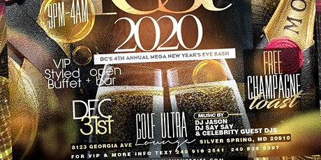 NYEFEST 2020: DC's 4th Annual New Years Eve Bash tickets