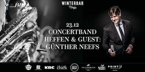 Winterbar Mirage Mechelen: Concertband van Heffen & guest Günther Neefs
