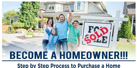 First Time Homebuyer Workshop - July 2020 tickets