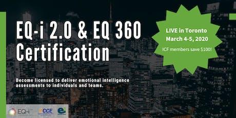 Emotional Intelligence Certification - EQ-i2.0 & EQ360 tickets