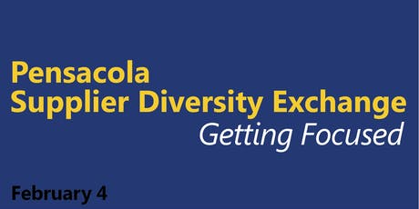 2020 Pensacola Supplier Diversity Exchange tickets