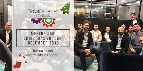"""TechItalia London """"Christmas Party"""" 2019 tickets"""