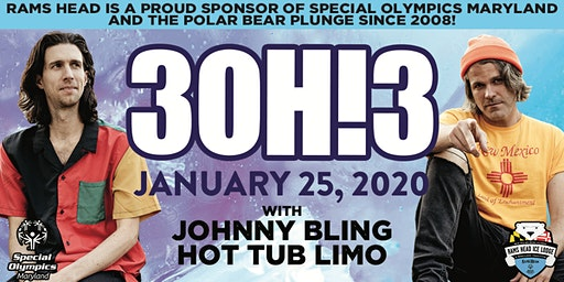 3OH!3, Johnny Bling, Hot Tub Limo at Polar Bear Plunge