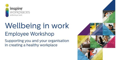 Wellbeing in the Workplace Event