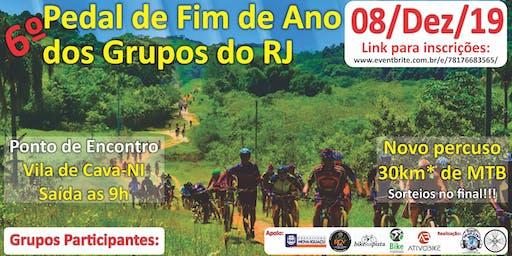 Pedal de Fim de Ano dos Grupo do RJ 2019