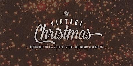Vintage Christmas 2019 tickets