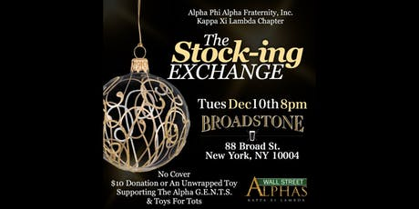The Wall Street Alphas Annual STOCK-ing Exchange 2019 Edition tickets
