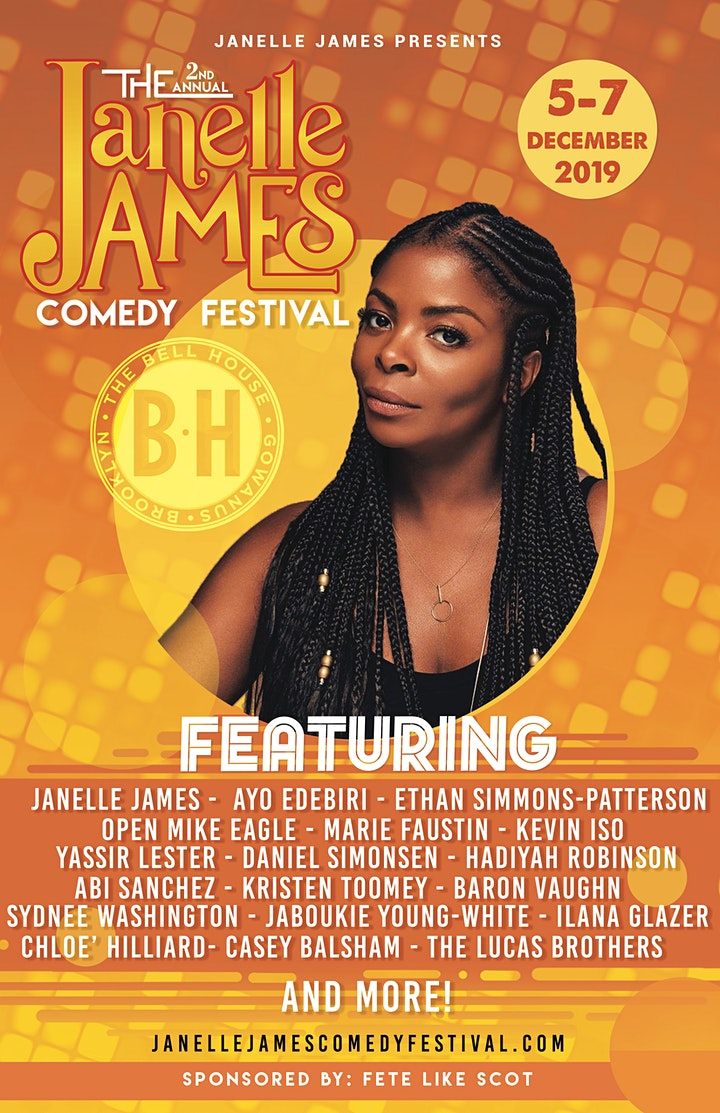 Janelle James Fest: A Black Ass Show with Open Mike Eagle and Baron Vaughn image
