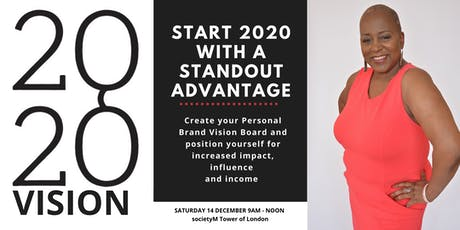 2020 Vision - Create your Personal Brand Vision Board tickets