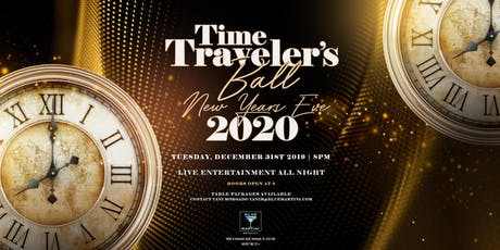 Blue Martini Brickell Time Traveler's Ball New Year's Eve 2020 tickets