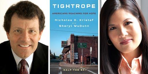Nicholas D. Kristof and Sheryl WuDunn at Back Bay Events Center