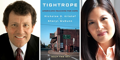 Nicholas D. Kristof and Sheryl WuDunn at Back Bay Events Center