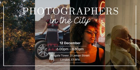 Photographers in the City tickets