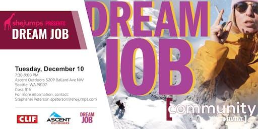 WA SheJumps Presents Dream Job