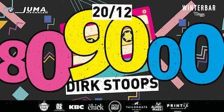 Winterbar Mirage Mechelen: 80-90-2000 party met Dirk Stoops tickets