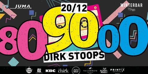 Winterbar Mirage Mechelen: 80-90-2000 party met Dirk Stoops