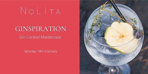 Ginspiration: Gin Cocktail Masterclass at NoLIta