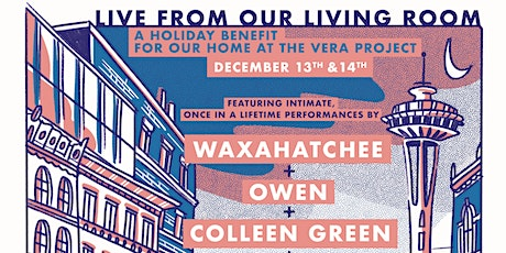Live From Our Living Room ft. Waxahatchee, Owen, Colleen Green, Blushh tickets