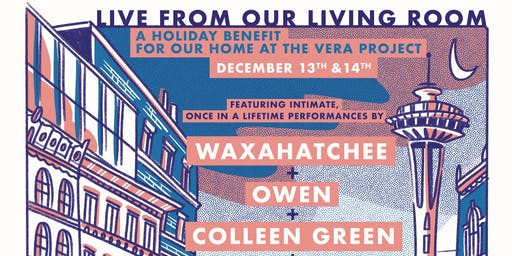 Live From Our Living Room ft. Waxahatchee, Owen, Colleen Green, Blushh