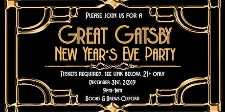 Great Gatsby New Year's Party tickets