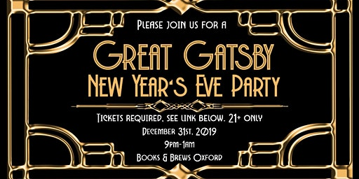 Great Gatsby New Year's Party