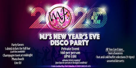 MJ's Grill New Year's Eve Disco Party tickets