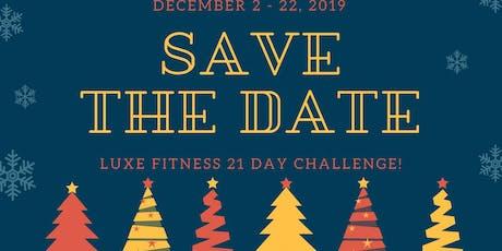 Luxe December Challenge tickets