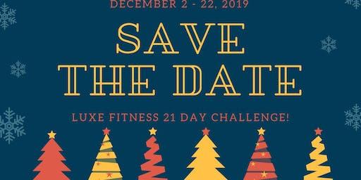 Luxe December Challenge