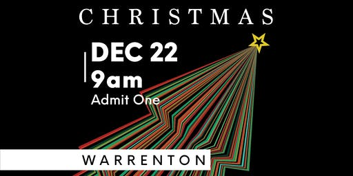 Element Church Christmas (Warrenton Dec. 22, 9:00am)