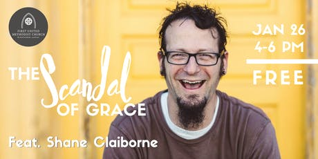 The Scandal of Grace featuring Shane Claiborne tickets