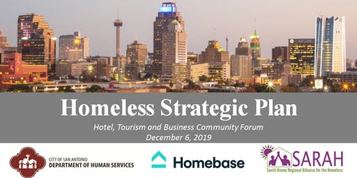 Homeless Strategic Plan  Meeting with Business,Hotel & Tourism Industries