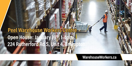Warehouse Workers Centre launch tickets
