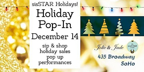 sisSTAR Holiday Pop-In 2019: Shop Women Owned Business tickets