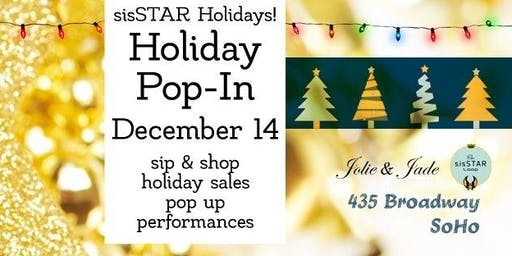 sisSTAR Holiday Pop-In 2019: Shop Women Owned Business