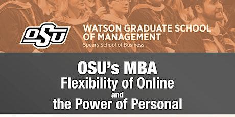 OSU's April 2020 Online MBA Webinar tickets