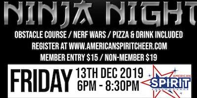 Nerf Wars & Ninja Night
