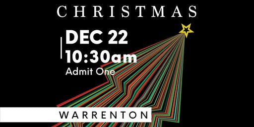 Element Church Christmas (Warrenton Dec. 22, 10:30am)