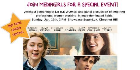 "MEDIAGIRLS Presents ""LITTLE WOMEN"": Screening & Conversation tickets"