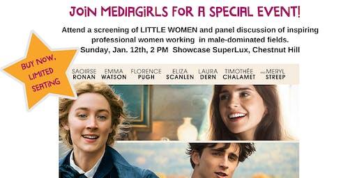 "MEDIAGIRLS Presents ""LITTLE WOMEN"": Screening & Conversation"
