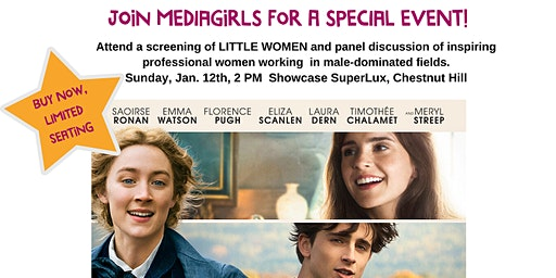 "MEDIAGIRLS Presents ""LITTLE WOMEN"": Screening & Conversation"
