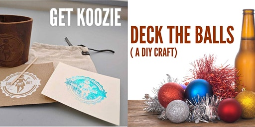Get Koozie & Deck the Balls